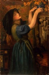 'Marigolds' or The Gardener's Daughter Rosetti