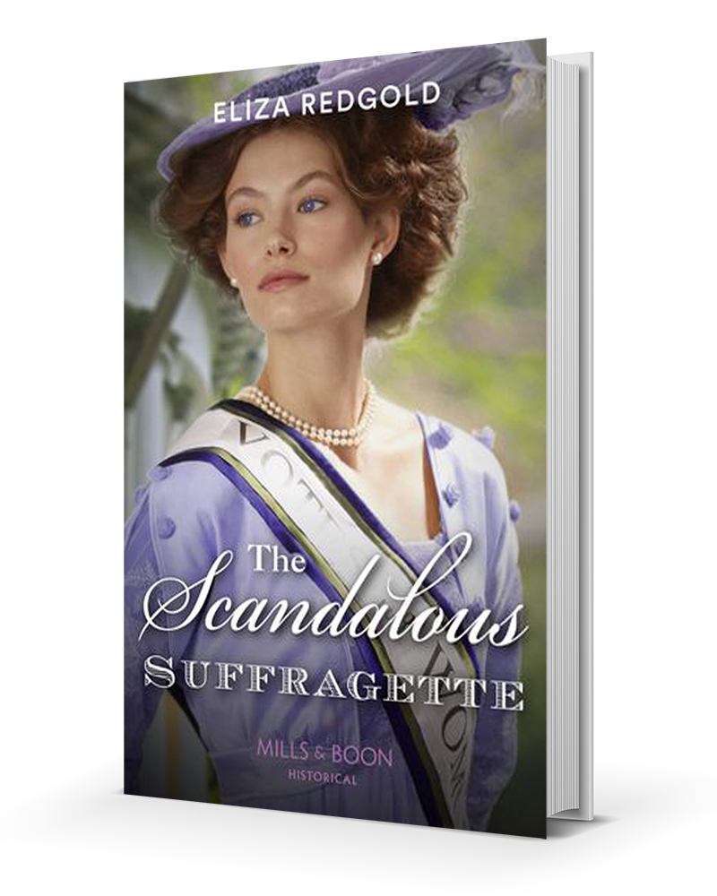 The Scandalous Suffragette Cover