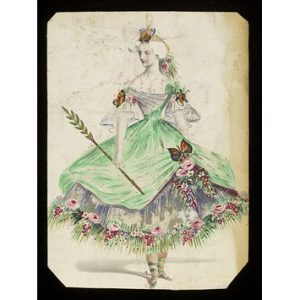 Butterfly Costume 1860s